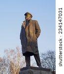 Statue Of Vladimir Lenin ...