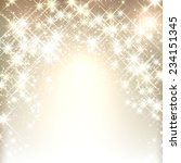 shiny starry christmas... | Shutterstock .eps vector #234151345