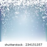 blue winter abstract background.... | Shutterstock .eps vector #234151357