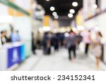 abstract  people walking in... | Shutterstock . vector #234152341