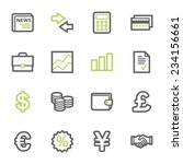 finance web icons set | Shutterstock .eps vector #234156661