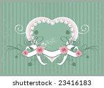 rose frame | Shutterstock .eps vector #23416183
