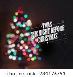 Abstract Christmas Tree Lights  ...
