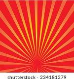 sun ray background | Shutterstock .eps vector #234181279