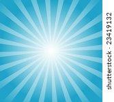 sun rays | Shutterstock .eps vector #23419132