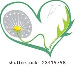 vector. heart with love  to... | Shutterstock .eps vector #23419798