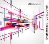abstract vector background   Shutterstock .eps vector #234199984