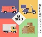 vector modern creative concept...   Shutterstock .eps vector #234207331