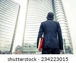 new age business man at his...   Shutterstock . vector #234223015