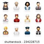 people icons | Shutterstock .eps vector #234228715