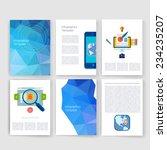 flyer  brochure design... | Shutterstock .eps vector #234235207