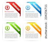 download ribbon icon