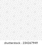 seamless pattern of... | Shutterstock .eps vector #234267949
