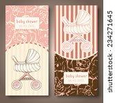baby shower cards  baby...   Shutterstock .eps vector #234271645