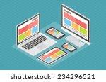 responsive web design  computer ...