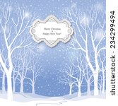 Christmas Background. Snow...