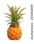Baby Pineapple Isolated