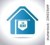 real estate design over white...   Shutterstock .eps vector #234315649