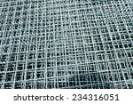 hot dip galvanized steel... | Shutterstock . vector #234316051