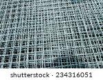 hot dip galvanized steel... | Shutterstock . vector #234316051