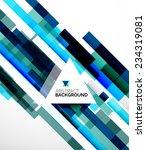 abstract flyer brochure... | Shutterstock . vector #234319081