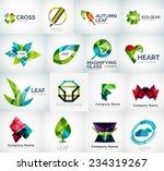 abstract company logo vector... | Shutterstock .eps vector #234319267