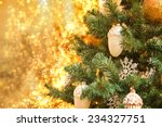 Elegant Christmas Tree With...