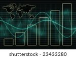 a global business abstract... | Shutterstock . vector #23433280
