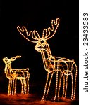 Family Of Lighted Reindeer