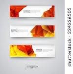 business design templates. set... | Shutterstock .eps vector #234336505