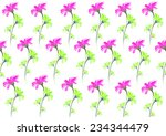 seamless patterns with... | Shutterstock . vector #234344479