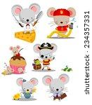 Mouse Vector Set