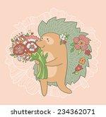 Hedgehog wedding