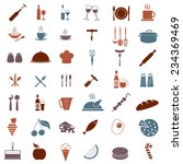 kitchen tools or equipment icon ...   Shutterstock .eps vector #234369469