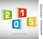 illustration of happy new year... | Shutterstock .eps vector #234372235