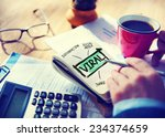 viral accounting sharing... | Shutterstock . vector #234374659