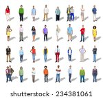 diversity ethnicity multi...   Shutterstock . vector #234381061