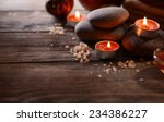 composition of spa treatment on ... | Shutterstock . vector #234386227
