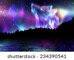 Colorful Northern Landscape...