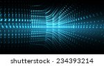 abstract digital background... | Shutterstock . vector #234393214