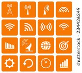 collection icons for web and...   Shutterstock .eps vector #234426349