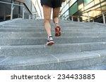 running man close up | Shutterstock . vector #234433885