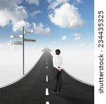 career development business... | Shutterstock . vector #234435325