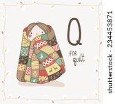 cute vector alphabet christmas. ...   Shutterstock .eps vector #234453871