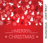 bright christmas greeting card  ...   Shutterstock .eps vector #234478417