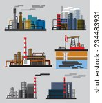 vector color industrial... | Shutterstock .eps vector #234483931
