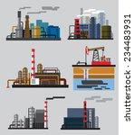 vector color industrial...   Shutterstock .eps vector #234483931