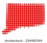 map of connecticut | Shutterstock .eps vector #234485344