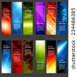business banners set for... | Shutterstock .eps vector #234486385