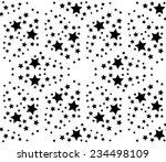 Pattern Background  Black Star...